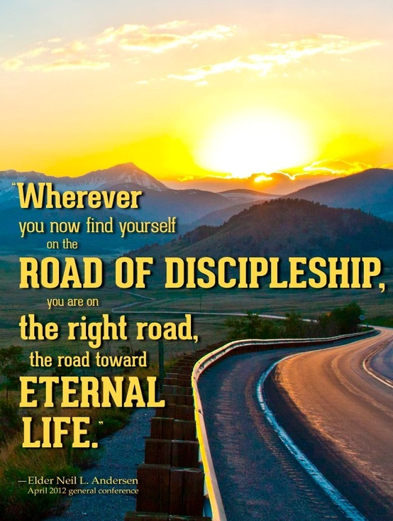road of discipleship creative lds quotes
