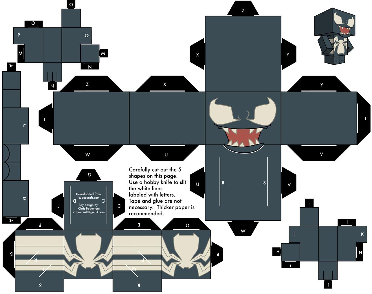 personajes para imprimir y armar! parte 3!