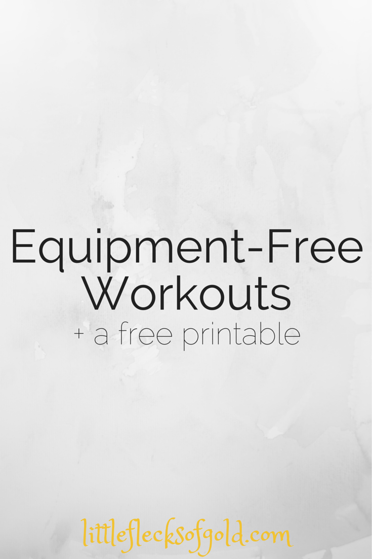 workouts that don't need any equipment