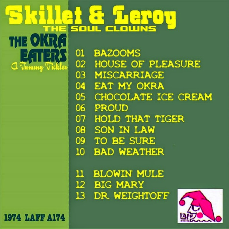 skillet and leroy the okra eaters