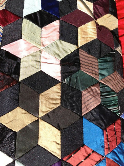Barbara Brackman's MATERIAL CULTURE: Tessellations 4: More 4-Sided ... : parallelogram quilt pattern - Adamdwight.com