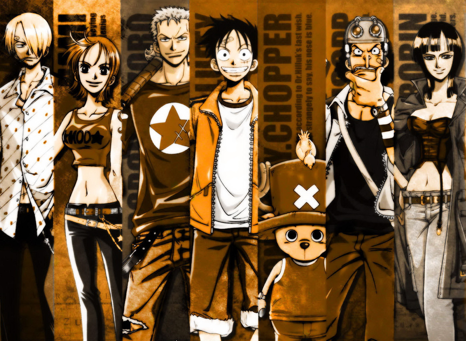 One Piece HD & Widescreen Wallpaper 0.124280275022228