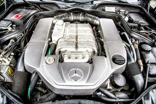 w211 e500 engine