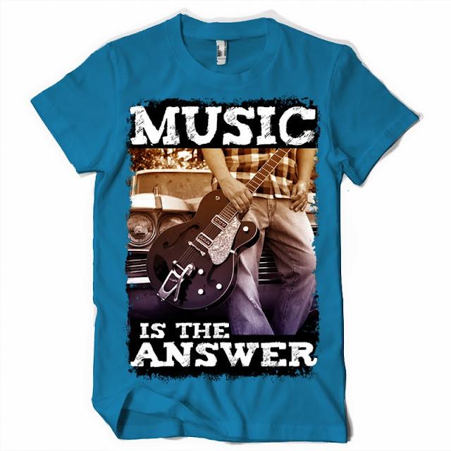 music t shirt design