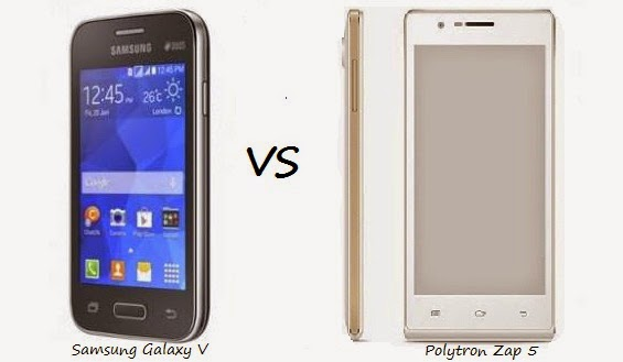 Perbandingan Samsung Galaxy V vs Polytron Zap 5 terbaru 2015
