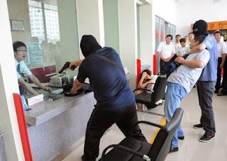 perampokan di Guangzhou China, kisah perampokan