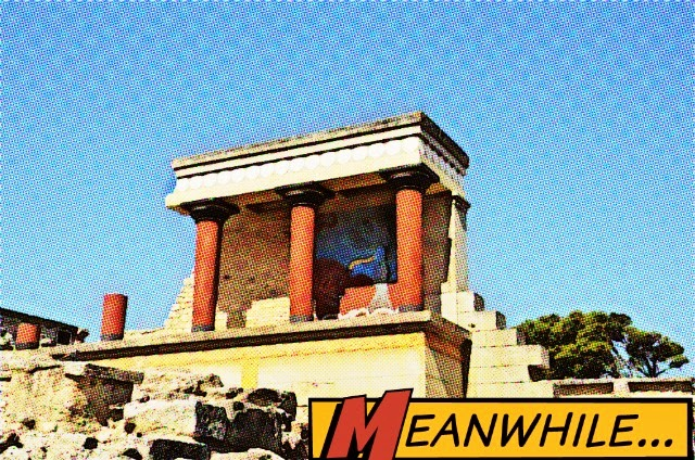 Is the Minoan Labyrinth Haunted?