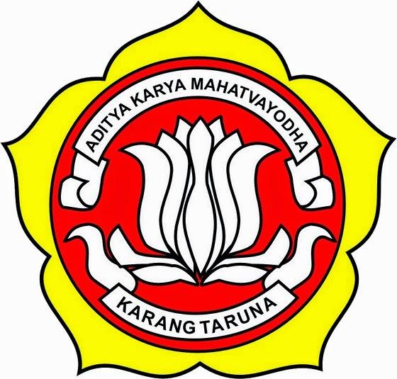 seperti ini logo karang taruna yang asli indonesia