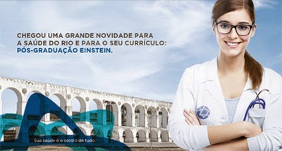 Hospital Albert Einstein oferece cursos de pós-graduação no Rio de Janeiro