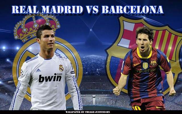 LiveStreaming Real Madrid vs Barcelona