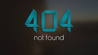 404 error is a usual thing on the internet