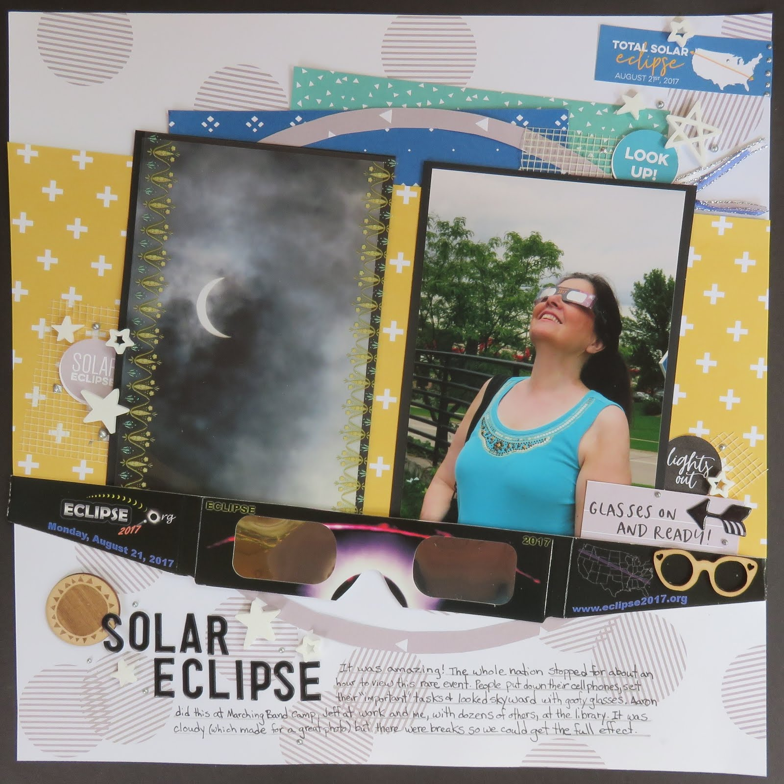 photo regarding Printable Solar Eclipse Glasses known as Tremendous Adhere Chick: Sunlight Eclipse Style and design