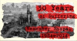 Bhopal commemoration 3 December Greyfriars