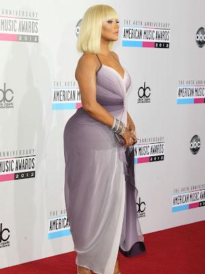 el trasero de christina aguilera en los  VMA 2012