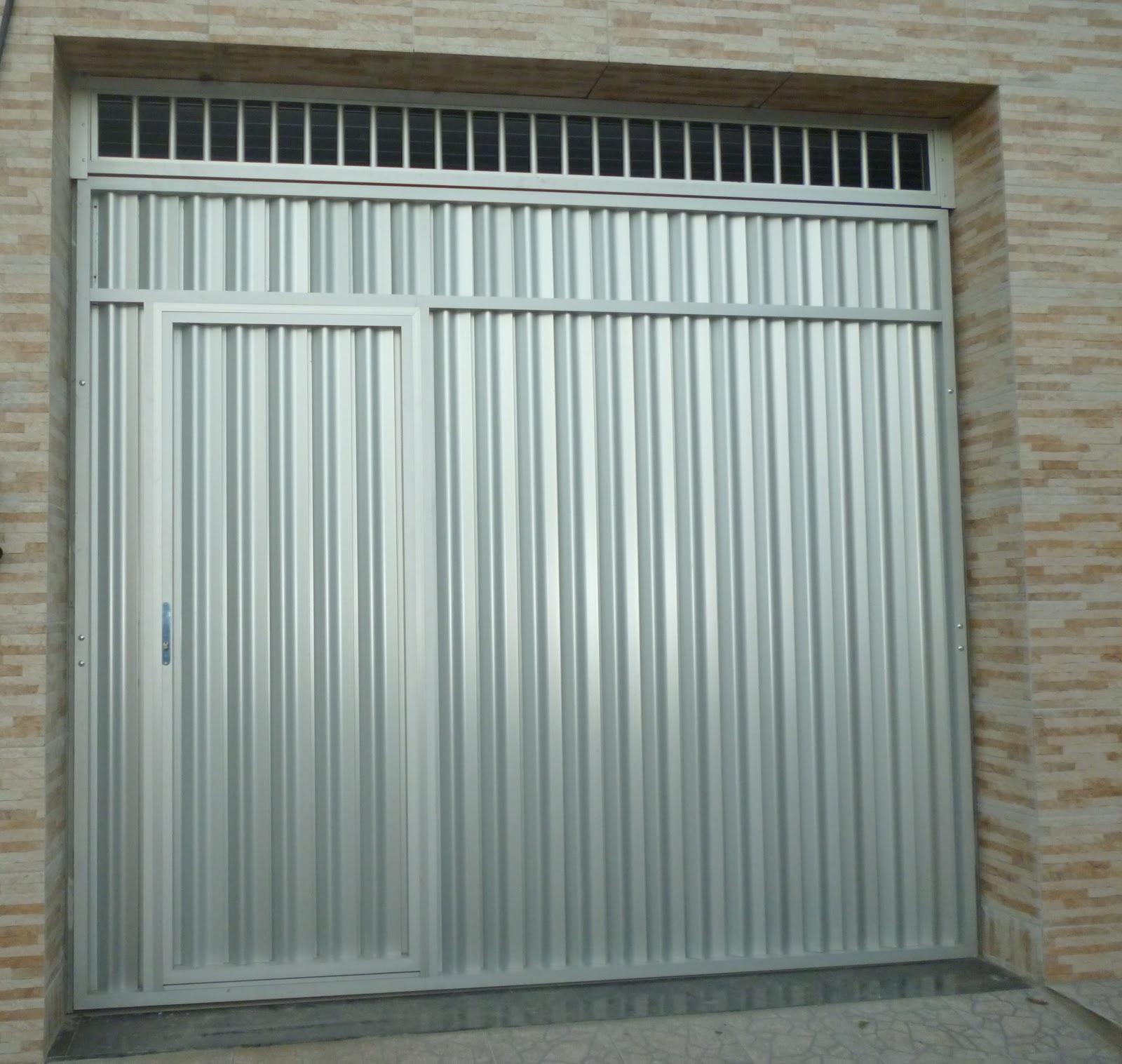 #59513E  BASCULANTE ALUMÍNIO FOSCO COM PORTA EMBUTIDA E BANDEIRA VAZADA 1142 Portas E Janelas De Aluminio Telha Norte