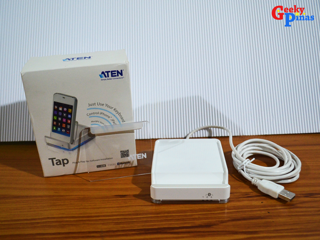 ATEN Tap CS533 USB Bluetooth KM Switch