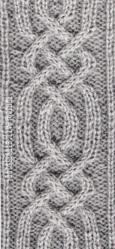 Арканы вязание спицами