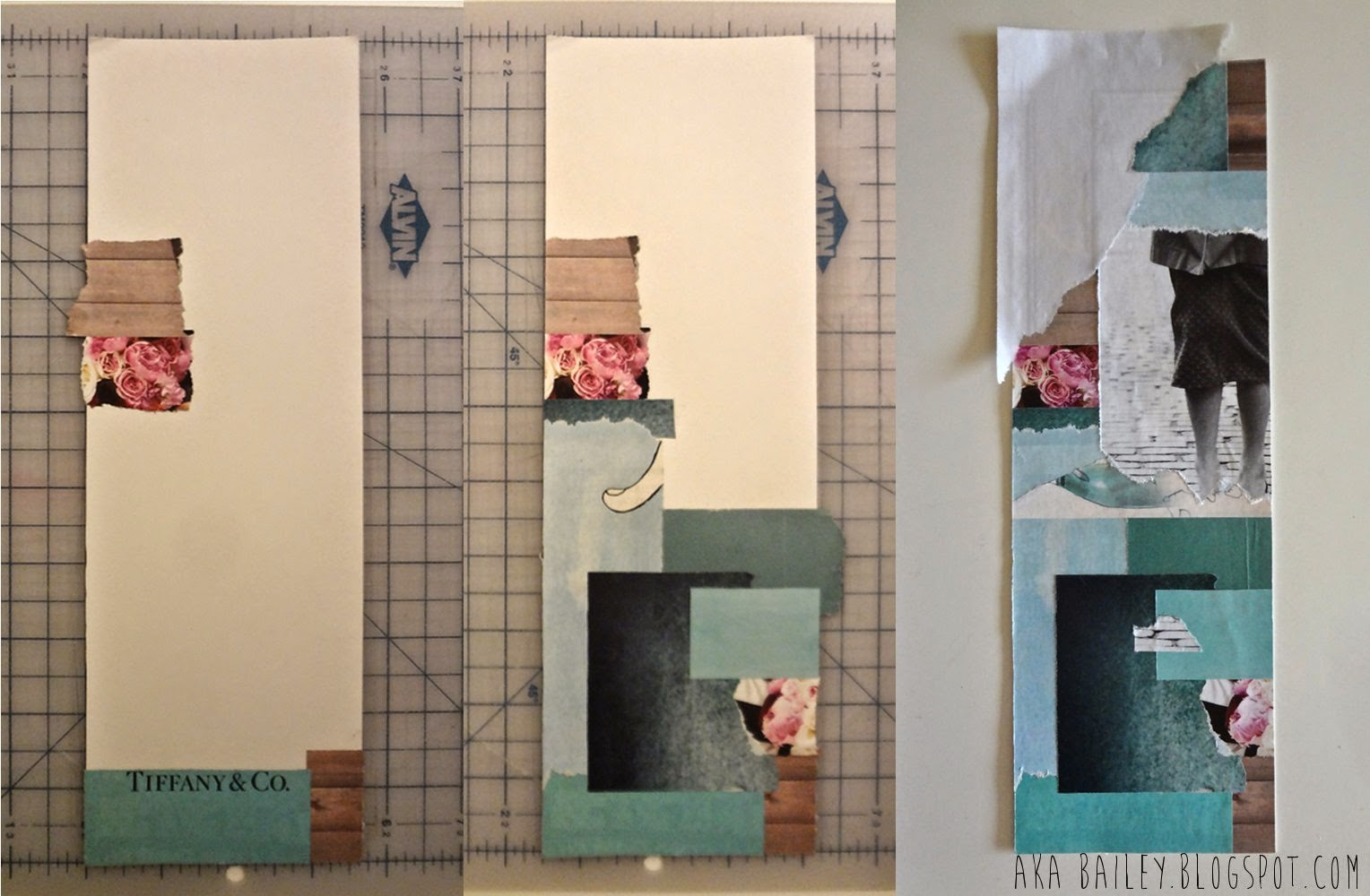 DIY collage step by step