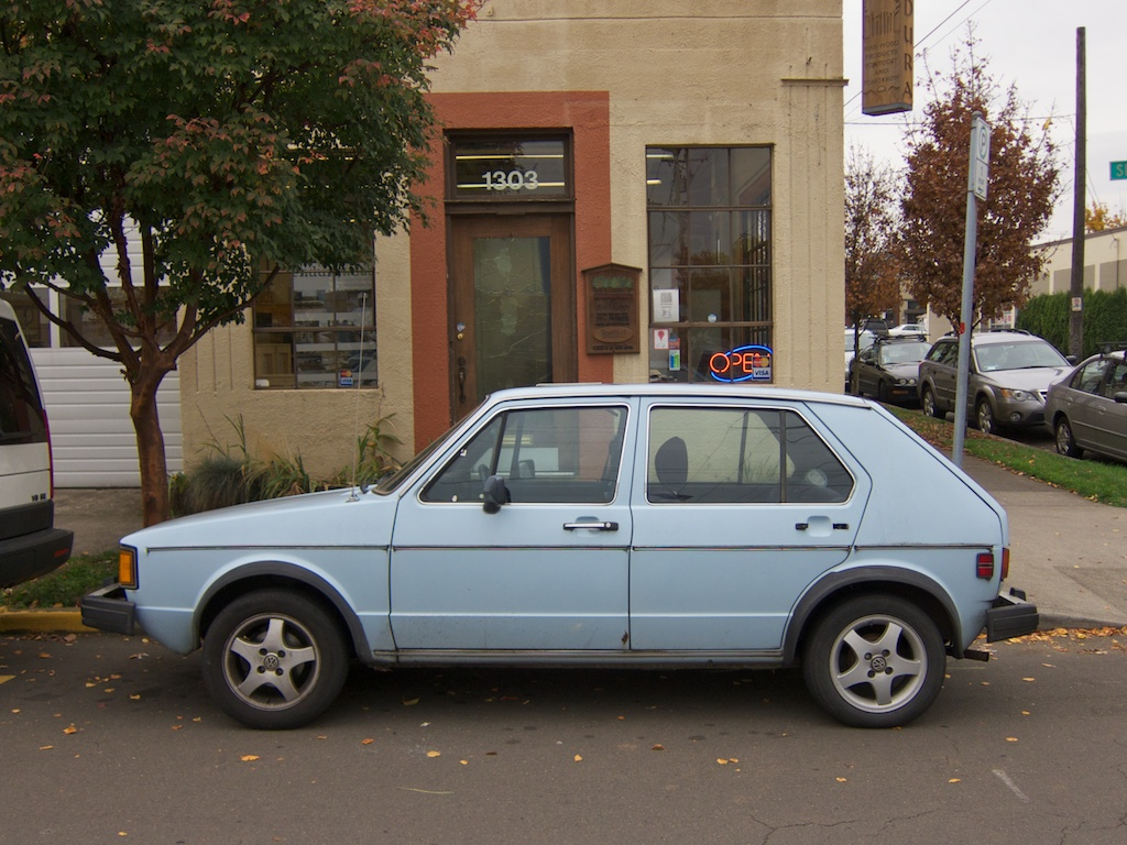 The street peep 1982 volkswagen rabbit ls diesel