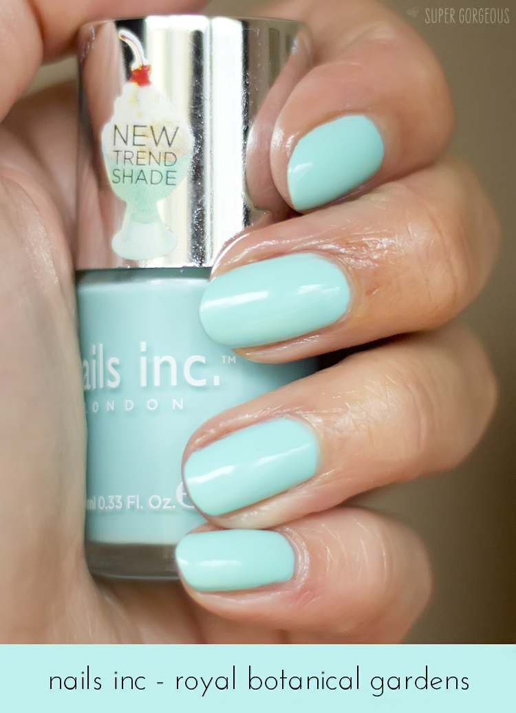Nails of the Day - Nails Inc Royal Botanical Gardens | Super Gorgeous
