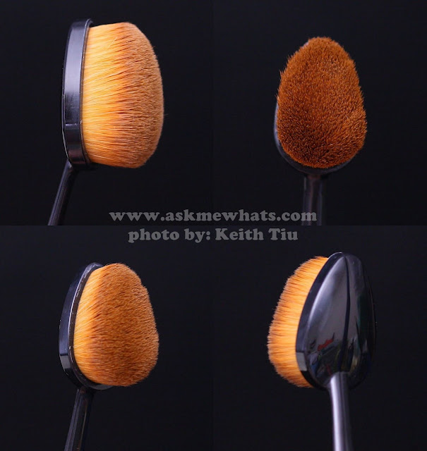 A photo of Purple Tags Oval Brush and Proud Mary BB Cream