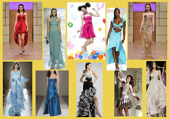 идеи для нарядных вечерних праздничных платьев
