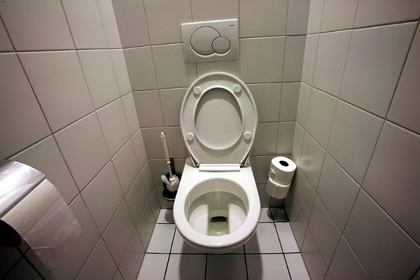 British term for bathroom