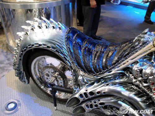 Ghost Rider's Harley-Davidson