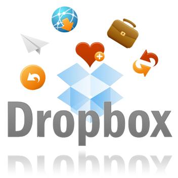 cara daftar dropbox, menyimpan file di internet