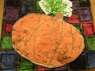 Mrs. Pierce's Polka Dot Spot: Batik Pumpkins