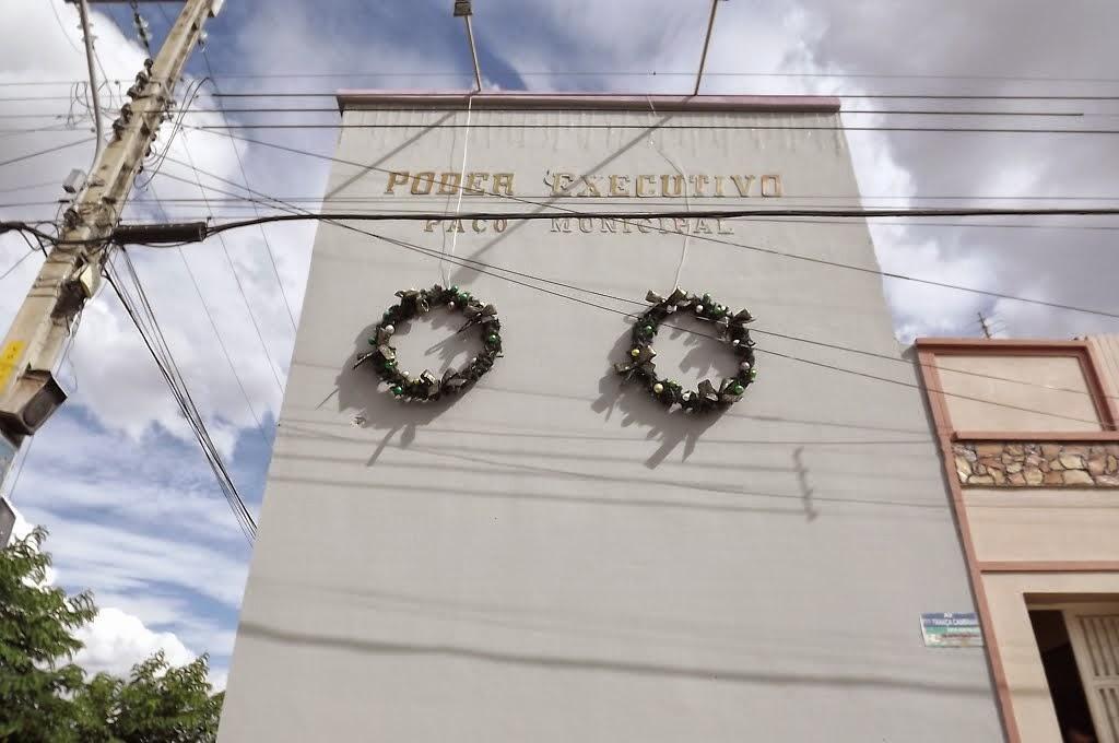 Prefeitura municipal de Senador Pompeu. foto Salles Ribeiro