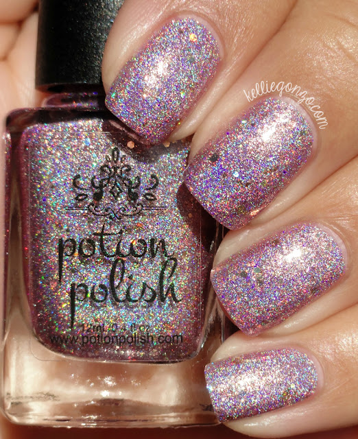 Potion Polish Pretty Pink Tree