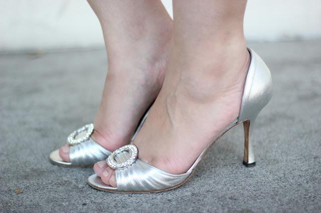Manolo Blahnik Stolen Carrie Heels