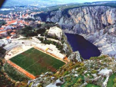 1. Estadio Gospin Dolac (Croacia)