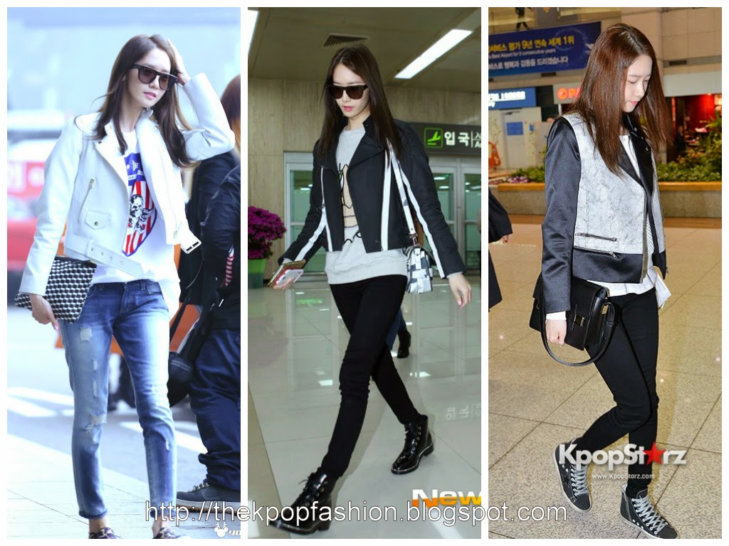 Off Stage Snsd 39 S Yoona Airport Fashion In 2014 The Kpop Fashion