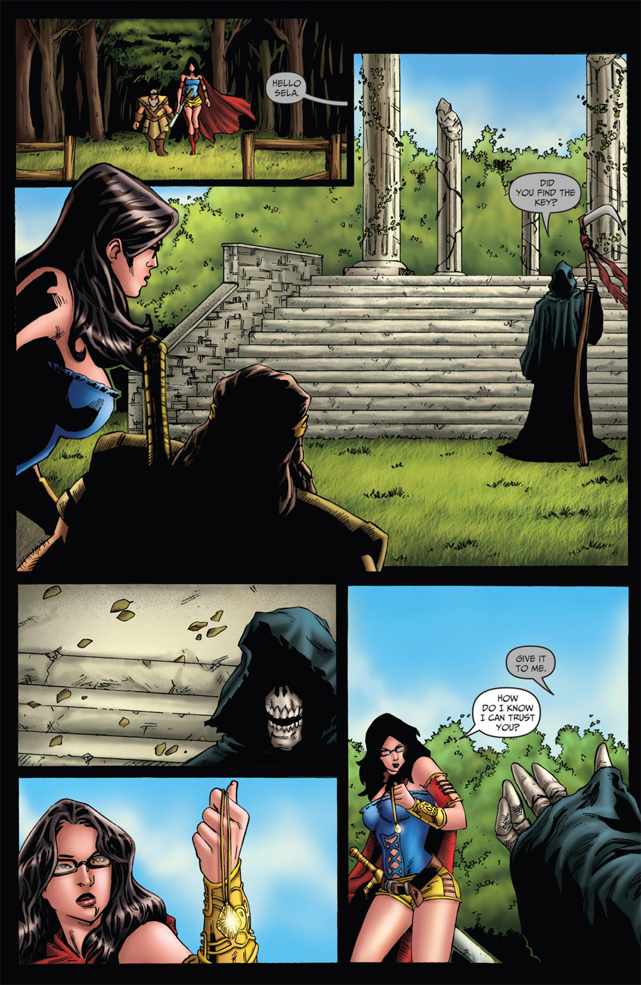 Grimm Fairy Tales (2005) Issue #56 #59 - English 17