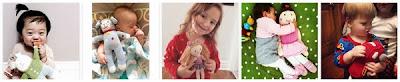 "Zubels 7"" Rattle Knit Doll"