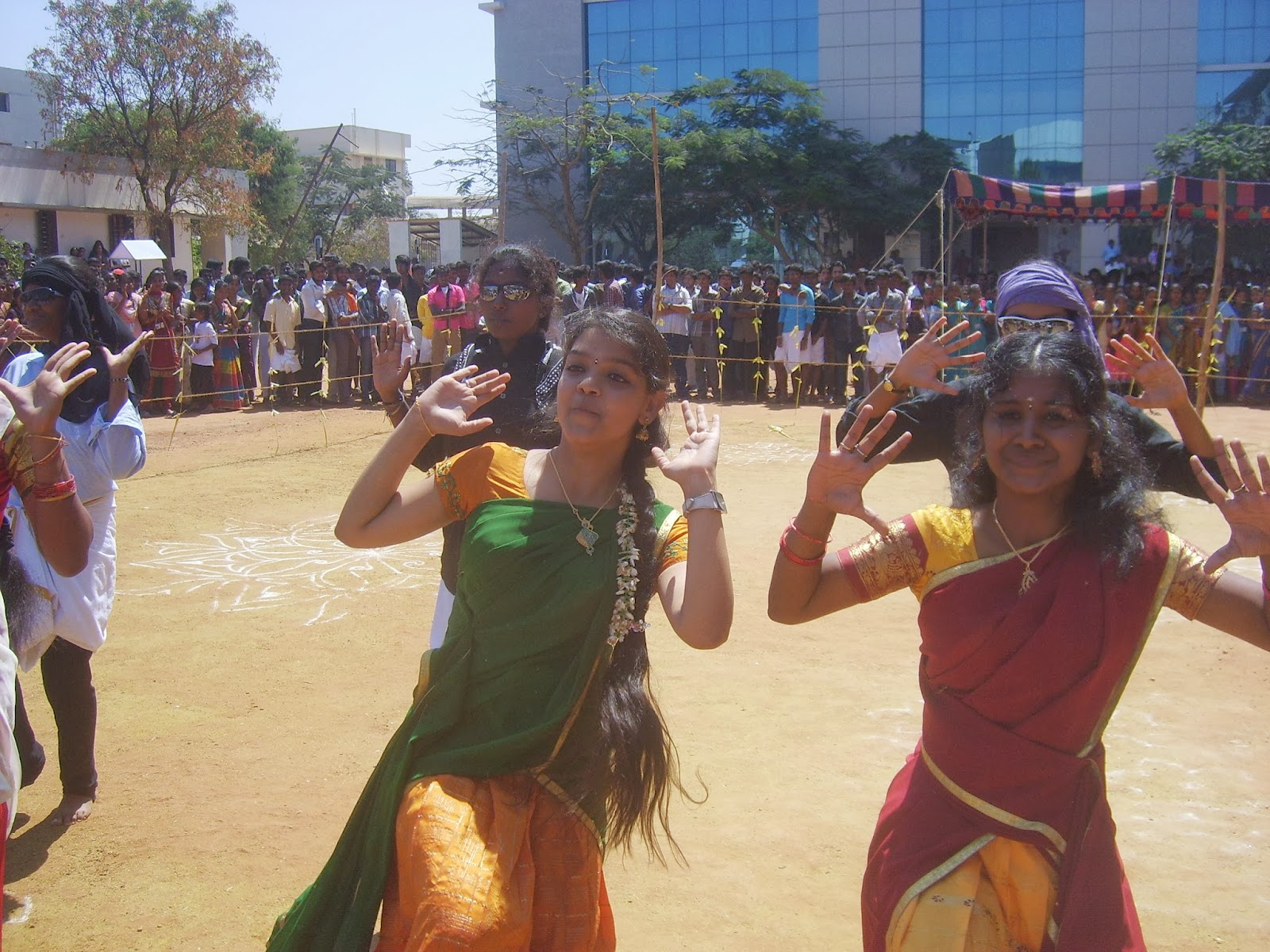 When Students Celebrated Kovai's Folk Festival