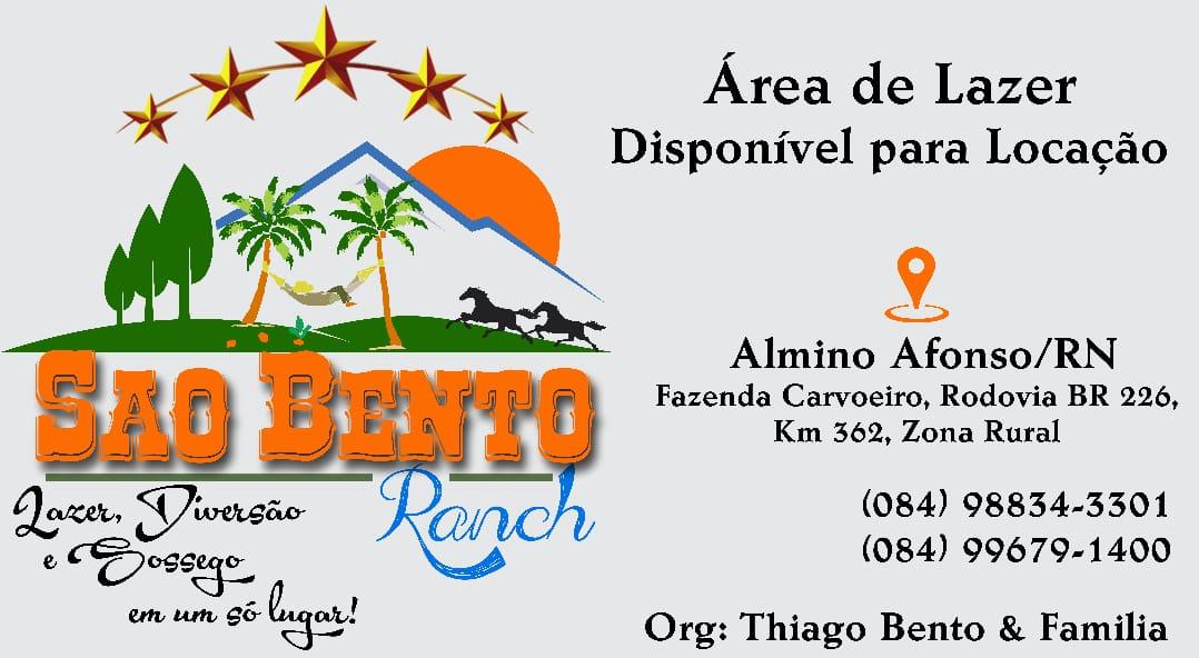 SÃO BENTO RANCH - LAZER E DIVERSÃO