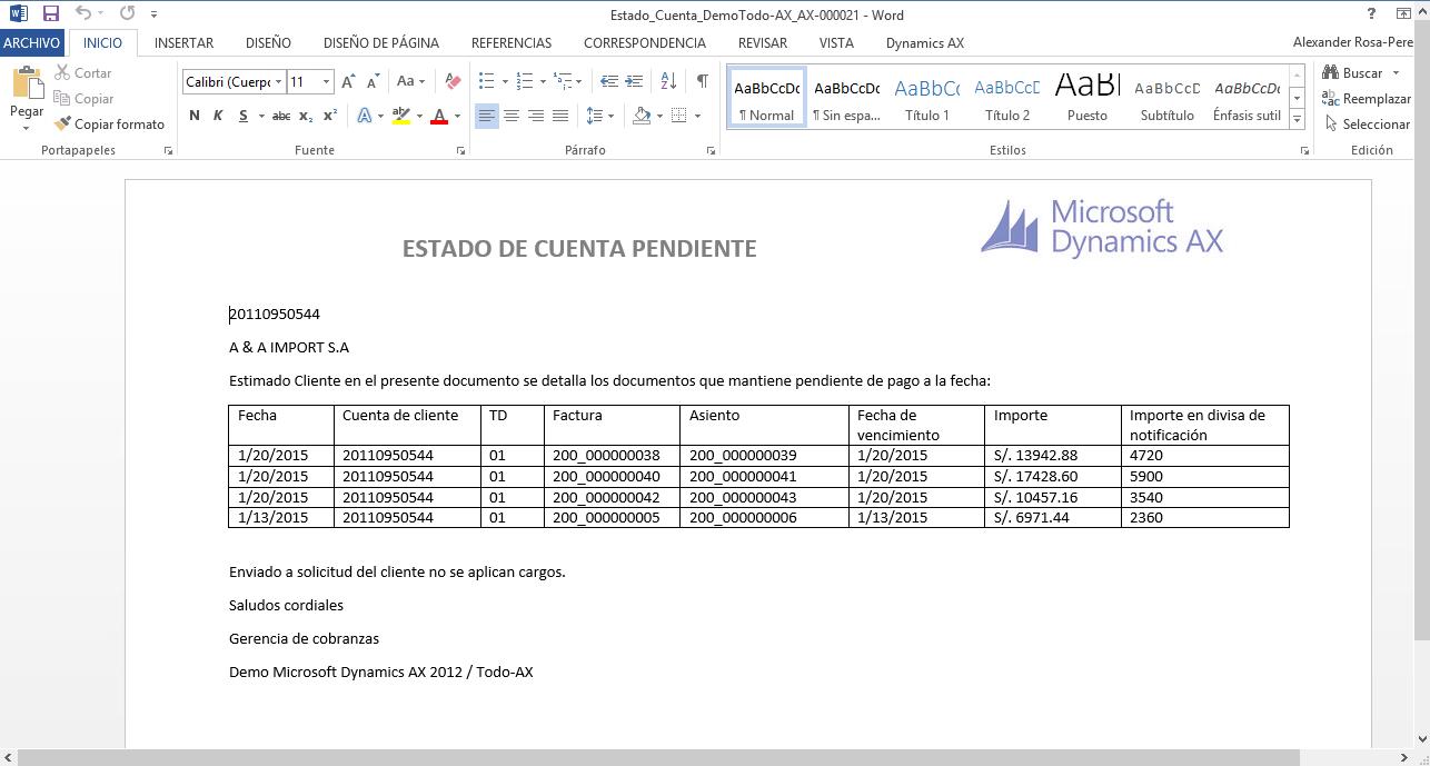 Todo sobre Microsoft Dynamics AX: Usar Plantillas Office en ...