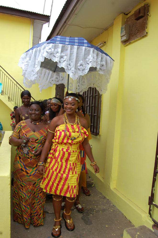 Marion Hateka Colorful Ghanaian Traditional Wedding