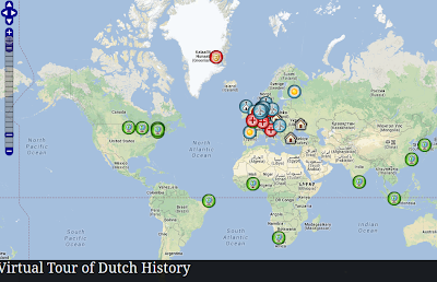 Virtual Tour of Dutch History Map