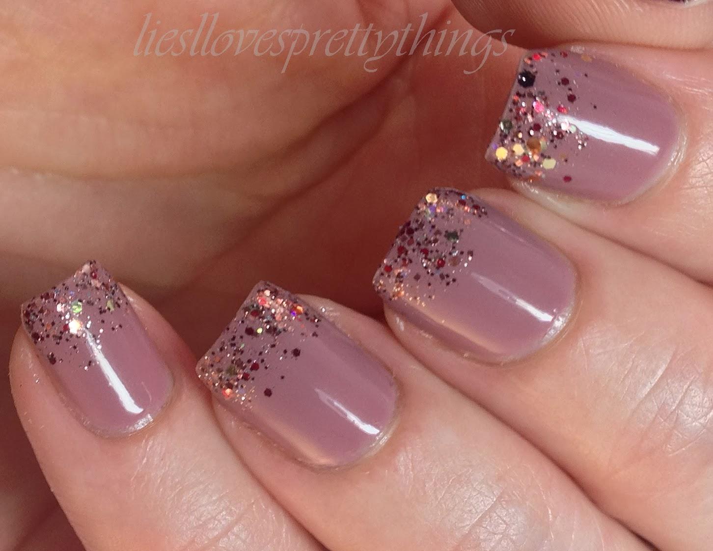 Shimmer Airriann nail art