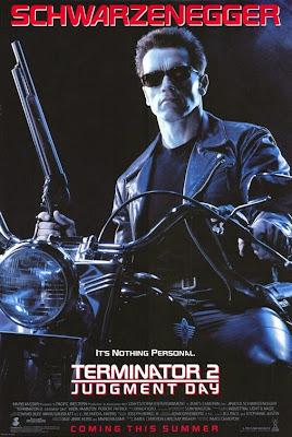 Terminator, poster, 2, día del juicio final, Schwarzenegger