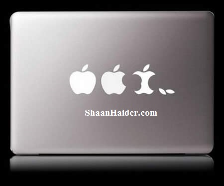 MacBook Stickers for Apple Lovers