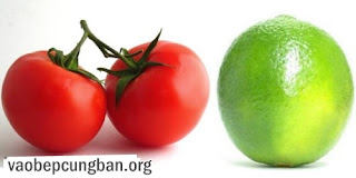 Cách trị nám bằng cà chua2