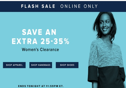 Hudson's Bay Flash Sale Extra 25-35% Off Women''s Clearance