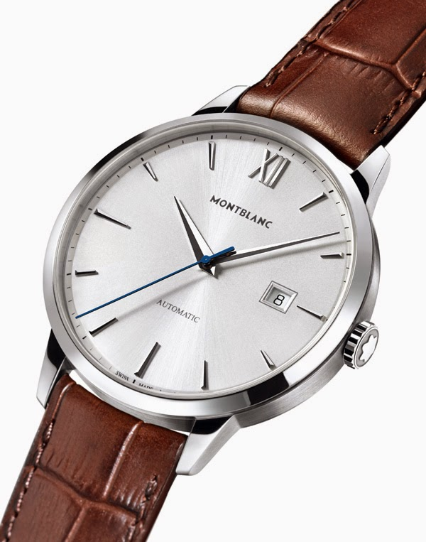 Montblanc Meisterstück Heritage Automatic Date - Swiss made watch.