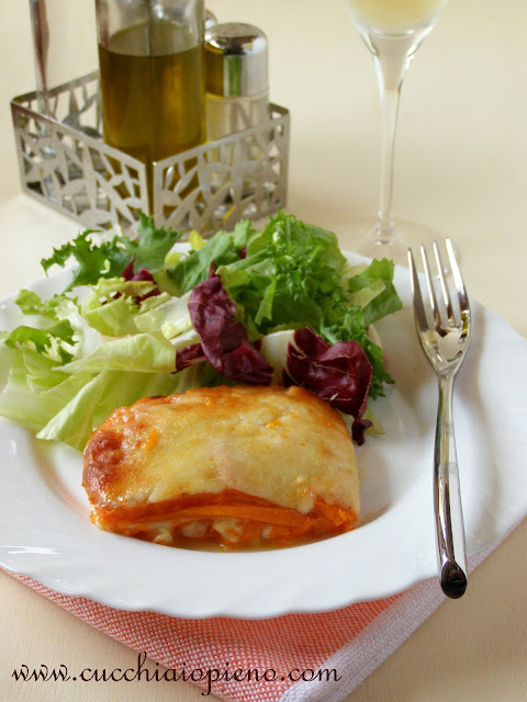 abóbora com queijo parmegiana