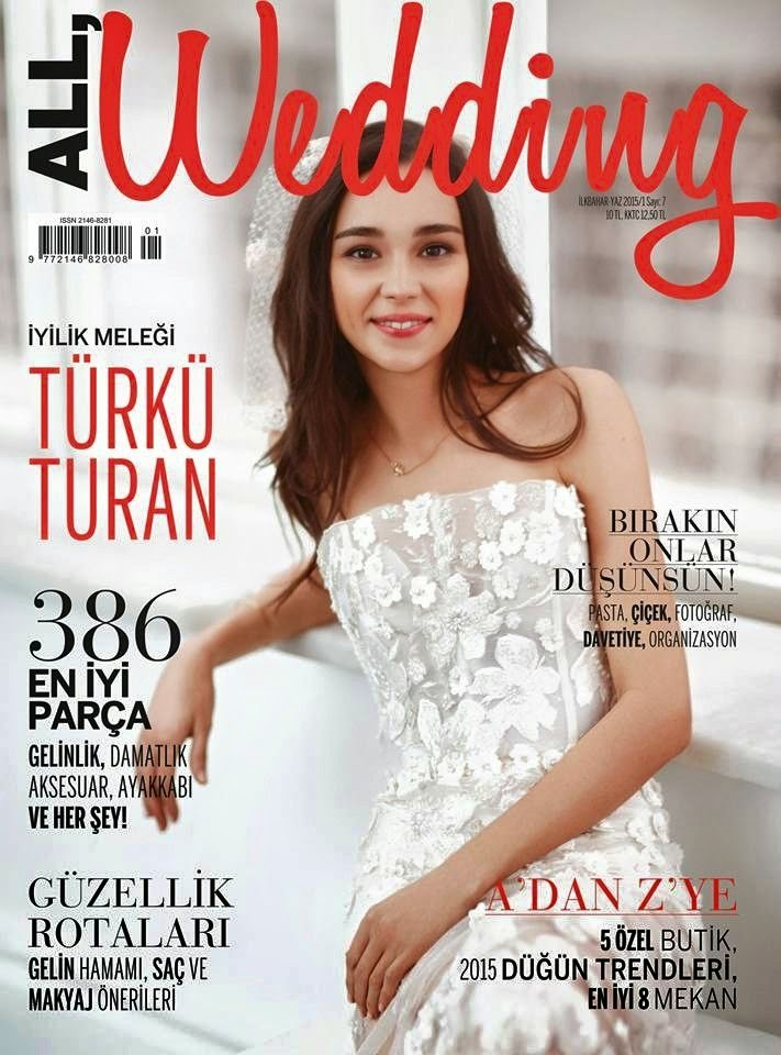 Actress @ Türkü Turan - All Wedding Turkey, May 2015